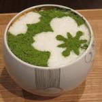 けずりひや 京都祇園 - 抹茶味のかき氷2