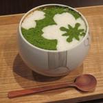 けずりひや 京都祇園 - 抹茶味のかき氷1