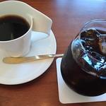 55578999 - マンデリンとアイスコーヒー