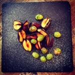 bowl - 栗と銀杏