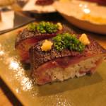 恵比寿それがし - 炙り〆鯖棒寿司