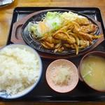 55583219 - トンテキ定食