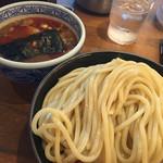 三田製麺所 - 辛つけ麺400g大盛り