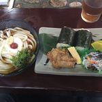むすび むさし - ミニ山かけ俵セット(冷・麺1玉)