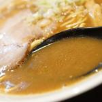 ラーメン屋 切田製麺 - スープ