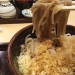 阿さま - 冷やしたぬき蕎麦