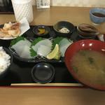 55586026 - 剣先イカ定食