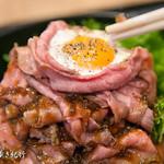 丼ぶり屋台 - キングローストビーフ丼