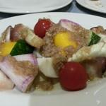 アルボルゴ - 水ダコといろいろ野菜のバーニャ