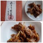 赤坂松葉屋 - ◆あさり生姜煮・・生姜が入ることで「あさり」の旨みが増しますね。ご飯の友に最適。
