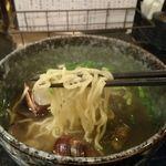 55589872 - 貝汁そば(麺)