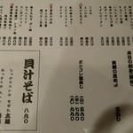 55589880 - 食事メニュー