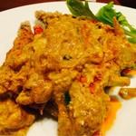タイ料理 アジアンダイニング ワルンプアン サタニー - クンニムパッポンカリー