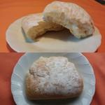 ベーカリー リヨンドール - 北海道牛乳クリームパン 160円 2016/08
