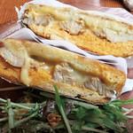 創作鉄板料理&ホットサンドダイナー teppan! - クバーノ【自家製ローストポークのキューバサンド】