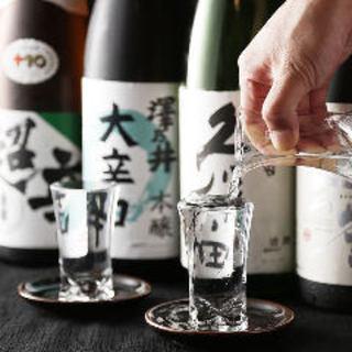 日本酒、焼酎にも自信あり!