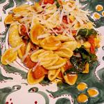 トラットリアピッツェリア polipo - 蕎麦粉のオレッキエッテ
