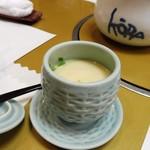 南鴨宮甲羅本店 - 茶碗蒸しで一休み