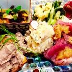 ほいっぽ - 肉と野菜の前菜盛り合わせ