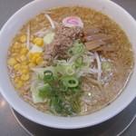 らーめん ぬーぼう - 料理写真:みそらーめん700円。