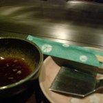鉄板屋 欣 - ☆テーブルセット…こんな感じです(*^_^*)☆