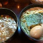 つけ麺もといし - つけ麺780円+味付半熟玉子120円