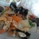 バーンレイ 葉山 - お野菜・海老・春雨がたっぷり