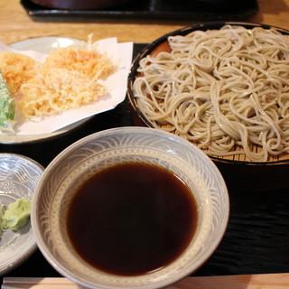 並木藪蕎麦 - 料理写真:天ざるそば