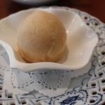 Cafe Salon de The OKA - 梅のシャーベット