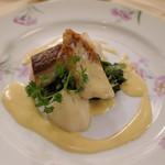 メインダイニングルーム - 海の幸(鯛)陽光ソース