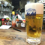 ビアカウンターちょこっと - 奈良県で2番目に美味いスーパードライ