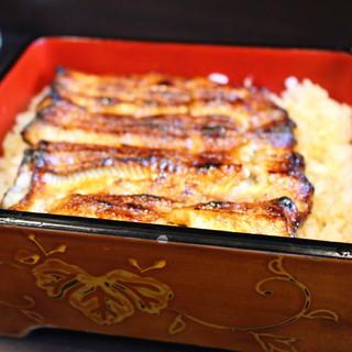 鰻禅 - 料理写真:うな重 特上(焦りすぎてボケてしまいました)