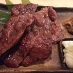 極たん牛政宗 - おすすめの本場仙台牛タン焼き一人前1,280円