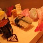 築地寿司岩 - えんがわがこりウマ