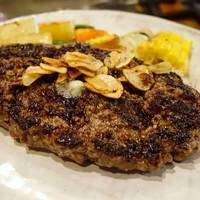 ステーキハウスひのき-熊野牛ハンバーグステーキ
