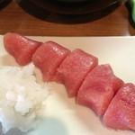 麦とろ 多摩山荘 小石川店 - タラコ、鬼おろし付