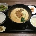 chuukadainingusaien - 担々麺ランチ お粥チョイス