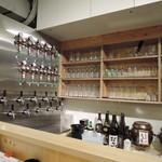 串揚げと樽生ビール 和が家 - 壮観なタップ