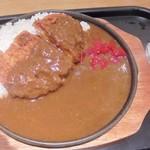 55617432 - 「鉄板ロースとんかつカレー」(980円)