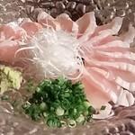 Yakitorisuehirogari - タタキの刺身