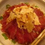 和座檜 - カツオのカルパッチョ