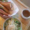 サンマロ - 料理写真:大急ぎで作ってもらったバゲットサンド@1296円