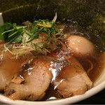 志奈そば 田なか - 得のせ田なか 鯵ニボそば醤油(950円)