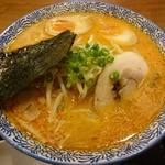 實 - 特濃辛味噌(830円)+煮玉子(100円)