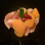Nurukansatou - イチジクに玉子の黄身のソースが、美味しい!