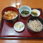 大黒屋 - 炭火丼セット850円税込み