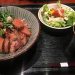 Yakiyakisannoieakasaka - サラダもついたお得なランチ