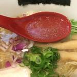 麺屋 正路 - 白醤油らーめんスープ