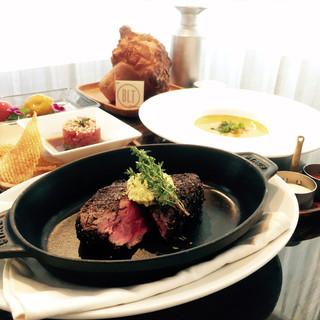 プリフィクスランチ2800円〜BLTの人気の料理が楽しめる