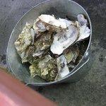 かきの里 - 牡蠣を食べてあと
